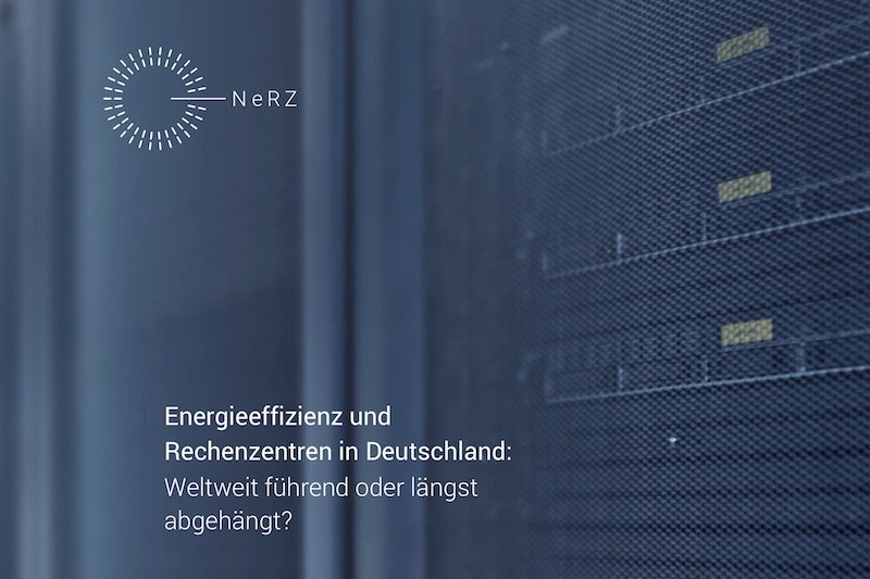 ©NeRZ – Netzwerk energieeffiziente Rechenzentren