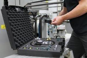 Stauff bestückt Hydraulik-Messkoffer nach Bedarf