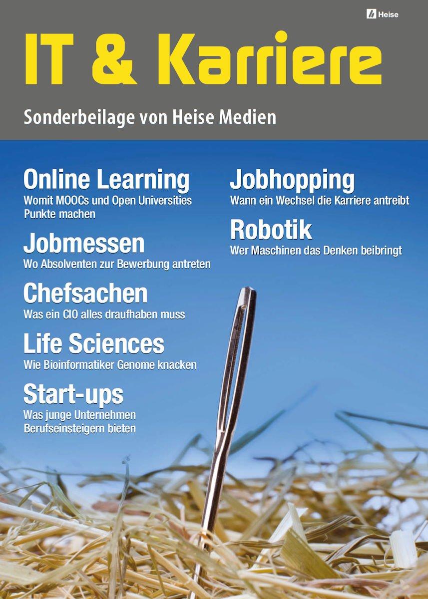 IT & KarriereInteressante Jobs gibt es bei Bioinformatik und Robotics