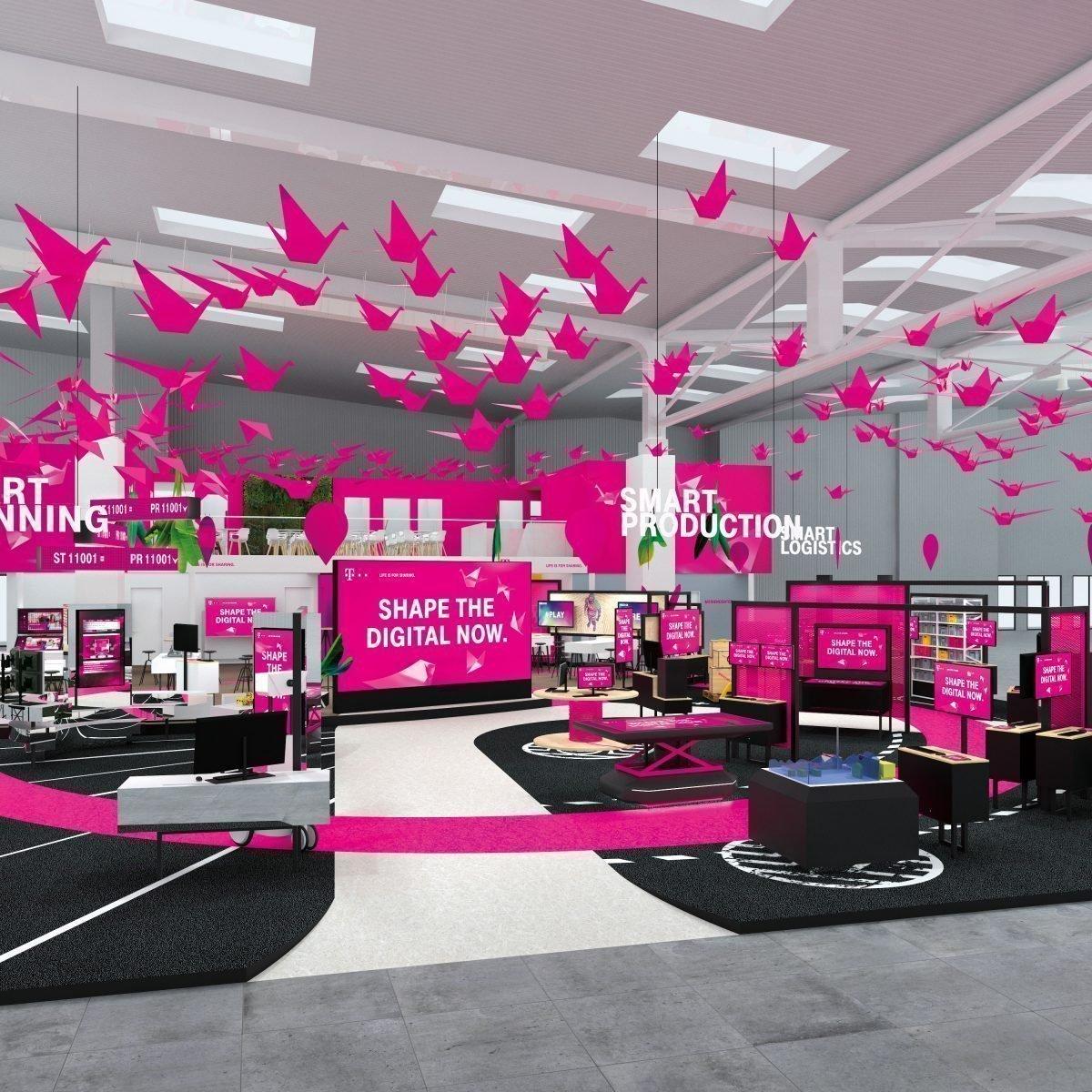 Hannover Messe5G, Narrowband IoT und neue Geschäftsmodelle sind die Telekom-Themen in Hannover
