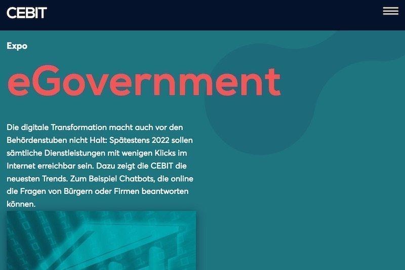 E-Government PitchDie Cebit sucht Digitalideen für Kommunen