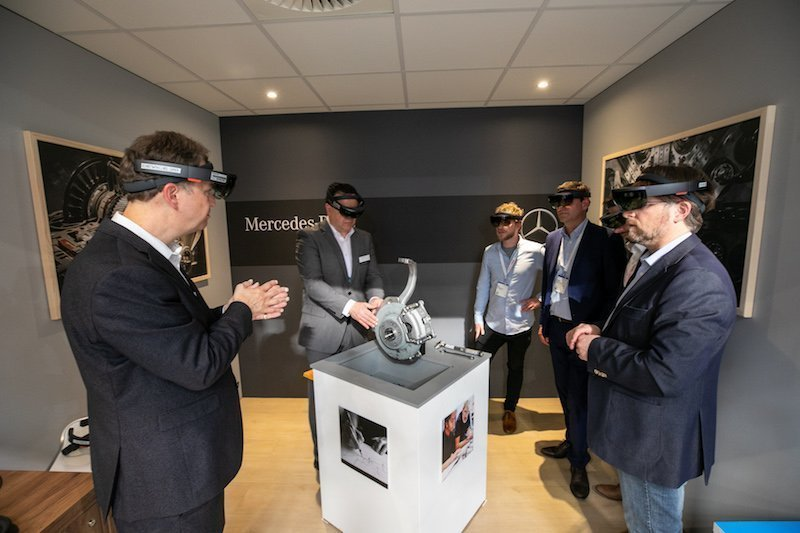 Hannover MesseMixed Reality ist in der Industrie angekommen