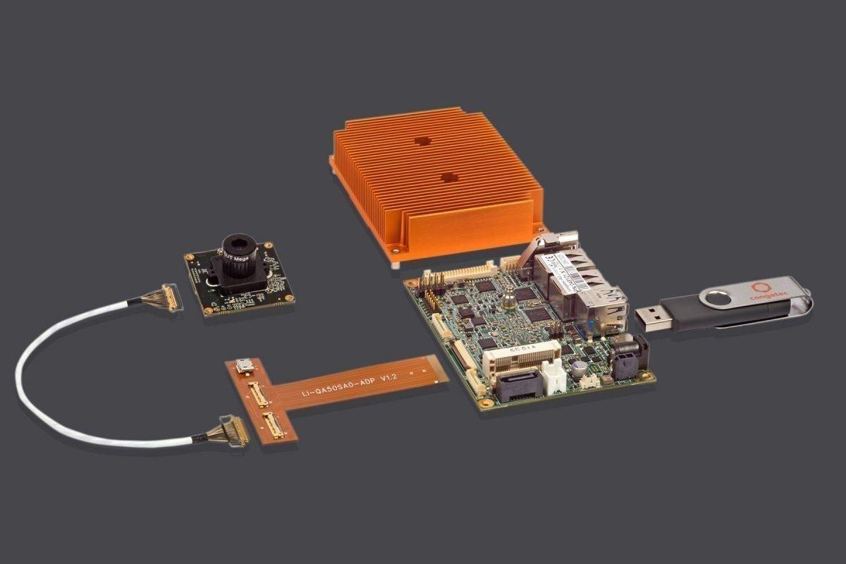Machine VisionEinsatzfertiges Cam-Kit öffnet Industrieanwendungen die Augen