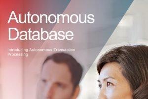Oracle Autonomous Transaction Processing ist jetzt verfügbar