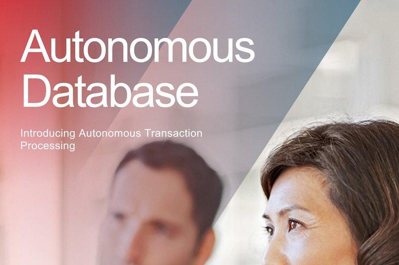 DatenbankenOracle Autonomous Transaction Processing ist jetzt verfügbar