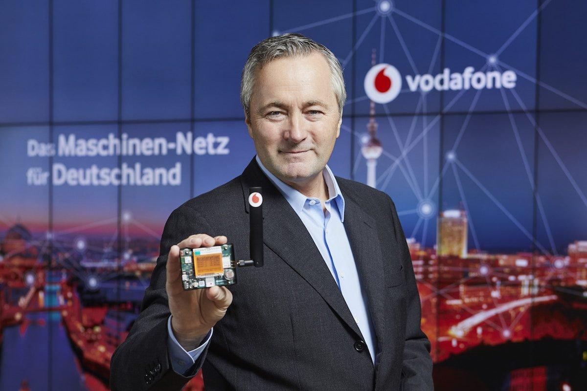 Internet der DingeDas Vodafone-Maschinennetz ist deutschlandweit aktiviert