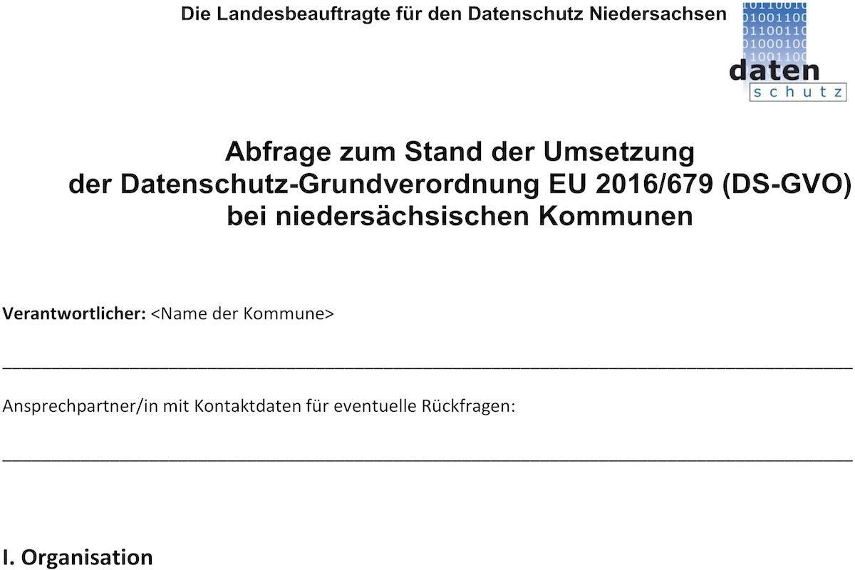 © Die Landesbeauftragte für den Datenschutz Niedersachsen
