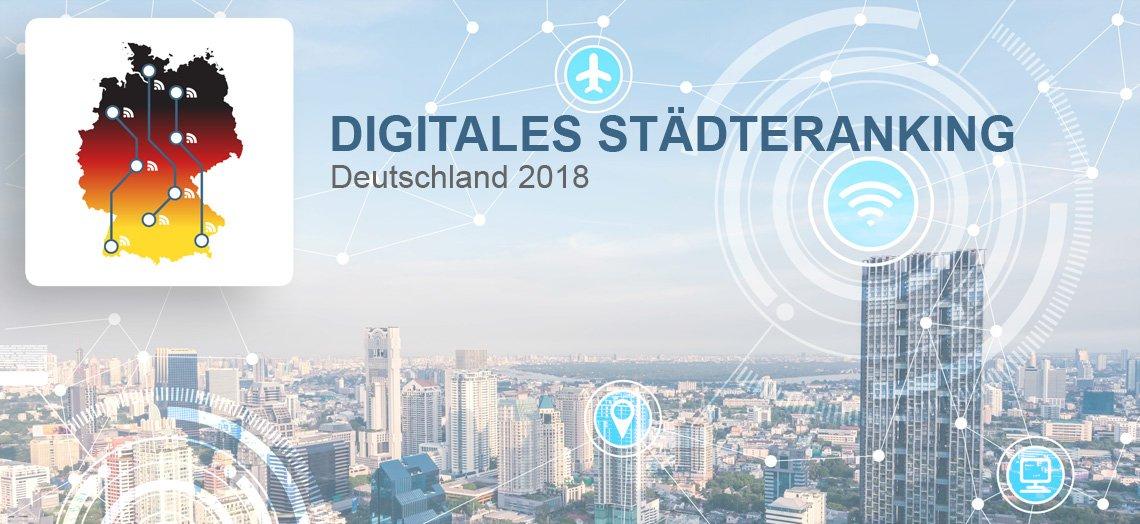 StädterankingHamburg und Köln sind Smart-City-Spitzenreiter