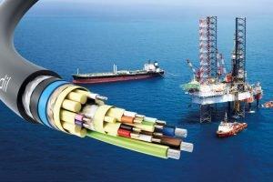 ATEX-geprüfte Hybrid-Ethernet-Leitung vernetzt Offshore-Anlagen