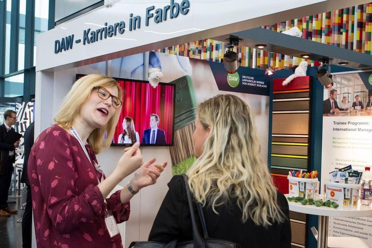 © Deutsche Amphibolin-Werke (DAW) – Karrieretag Familienunternehmen GbR