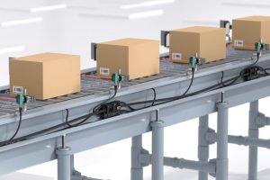 Sensor-Puffersystem verhindert fördertechnische Auffahrunfälle