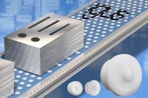 Verbesserte Polymerkugelrollen halten Axiallasten bis 500N aus