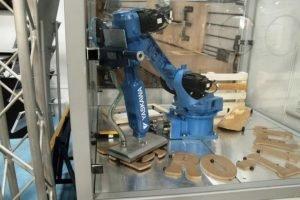 Die Holzindustrie automatisiert mit Vakuumgreifern