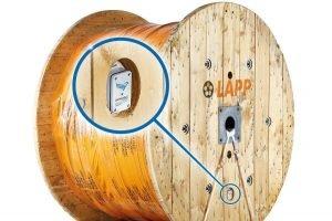 Smarte Bluetooth-Kabeltrommel meldet Standort und Verbrauch