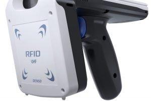 RFID-Schlitten für Smartphones schafft 700 RFID-Tags pro Sekunde