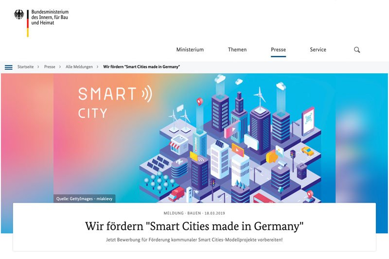 Smart Cities made in Germany