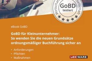 E-Book-Ratgeber erklärt GoBD-Pflichten für Kleinbetriebe und Selbstständige