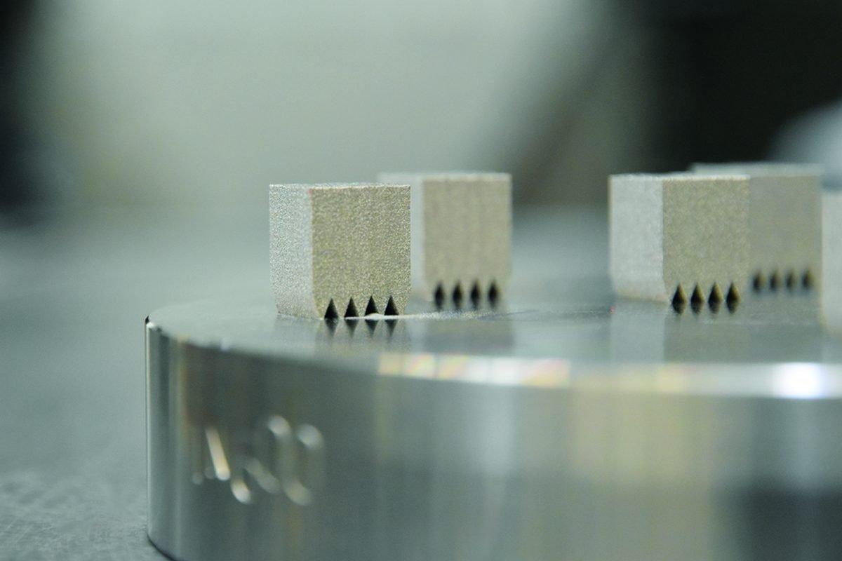 Neue Werkstoffe für metallische 3D-Druckverfahren