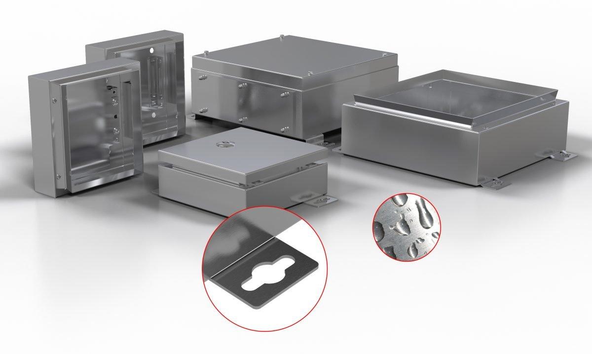 GehäusetechnikModulares System ermöglicht individuelle Erstellung von Edelstahlgehäusen
