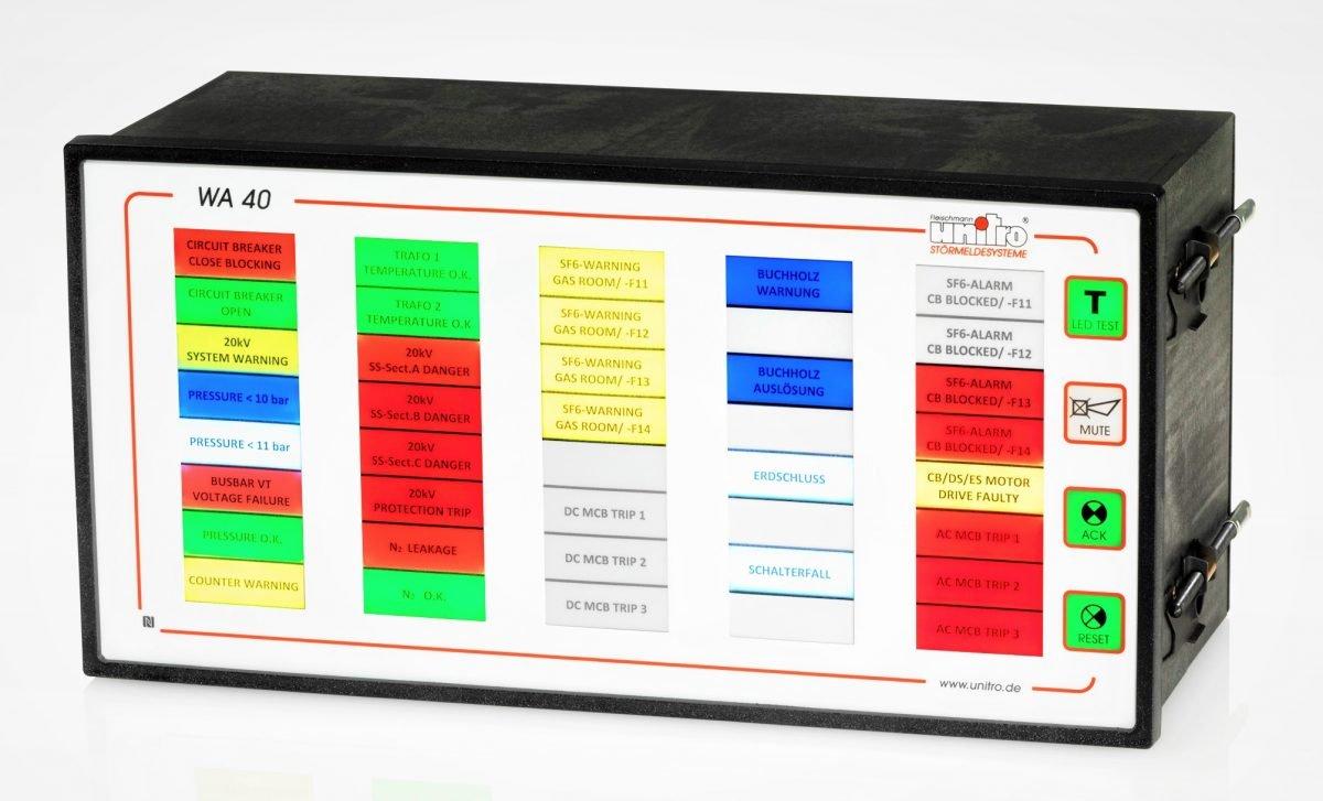 Industrie 4.0Unitro rüstet seine Leuchtfeld-Störmeldesysteme für Predictive Maintenance
