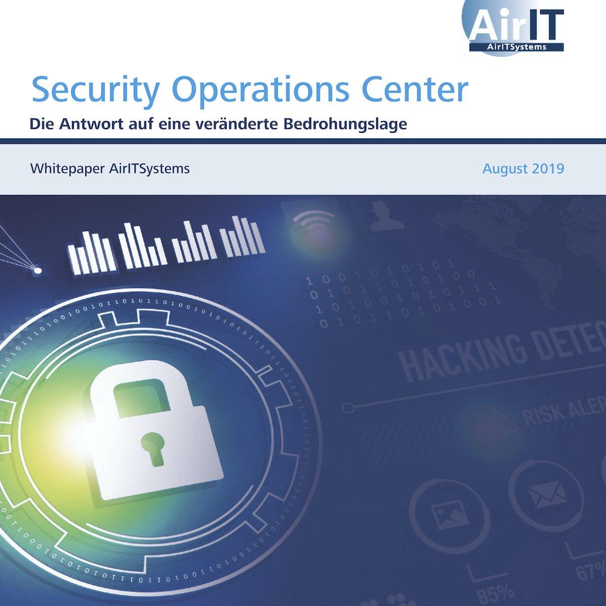 IT-SicherheitEin schlagkräftiges Security Operations Center ist machbar