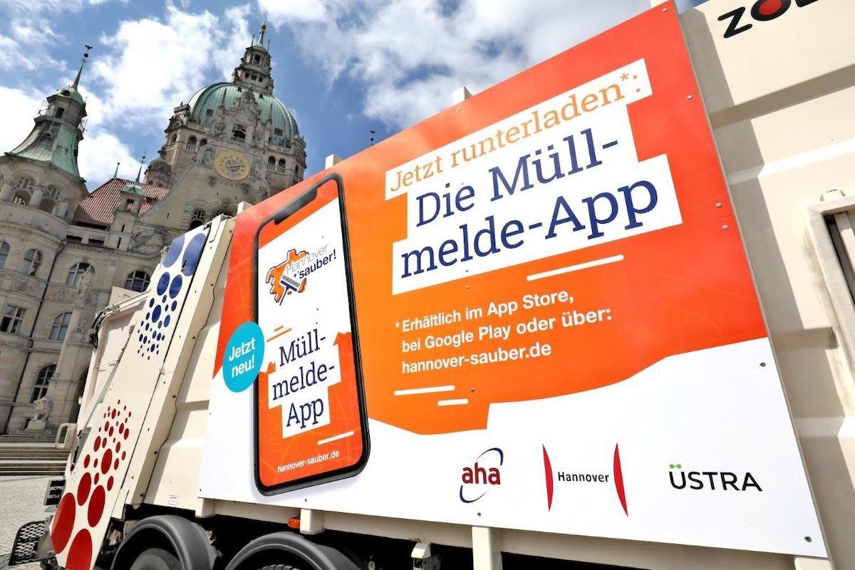 AbfallwirtschaftMüllmelde-Apps sollen Städte sauberer machen