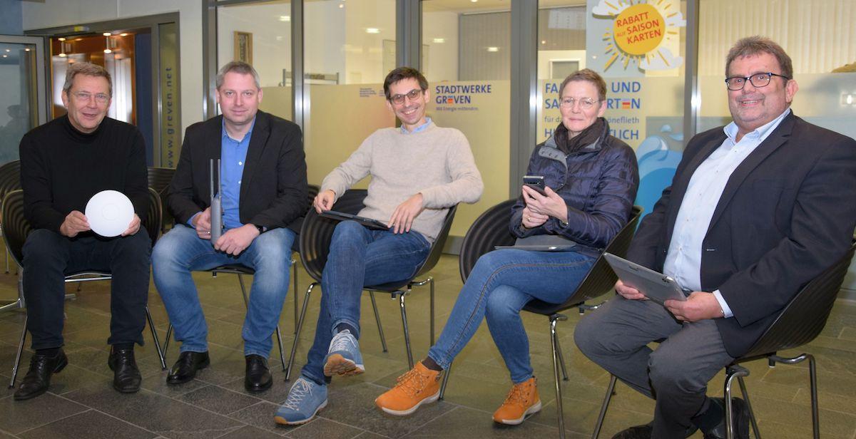 Digitale InfrastrukturGreven surft mobil im kostenlosen Public WLAN