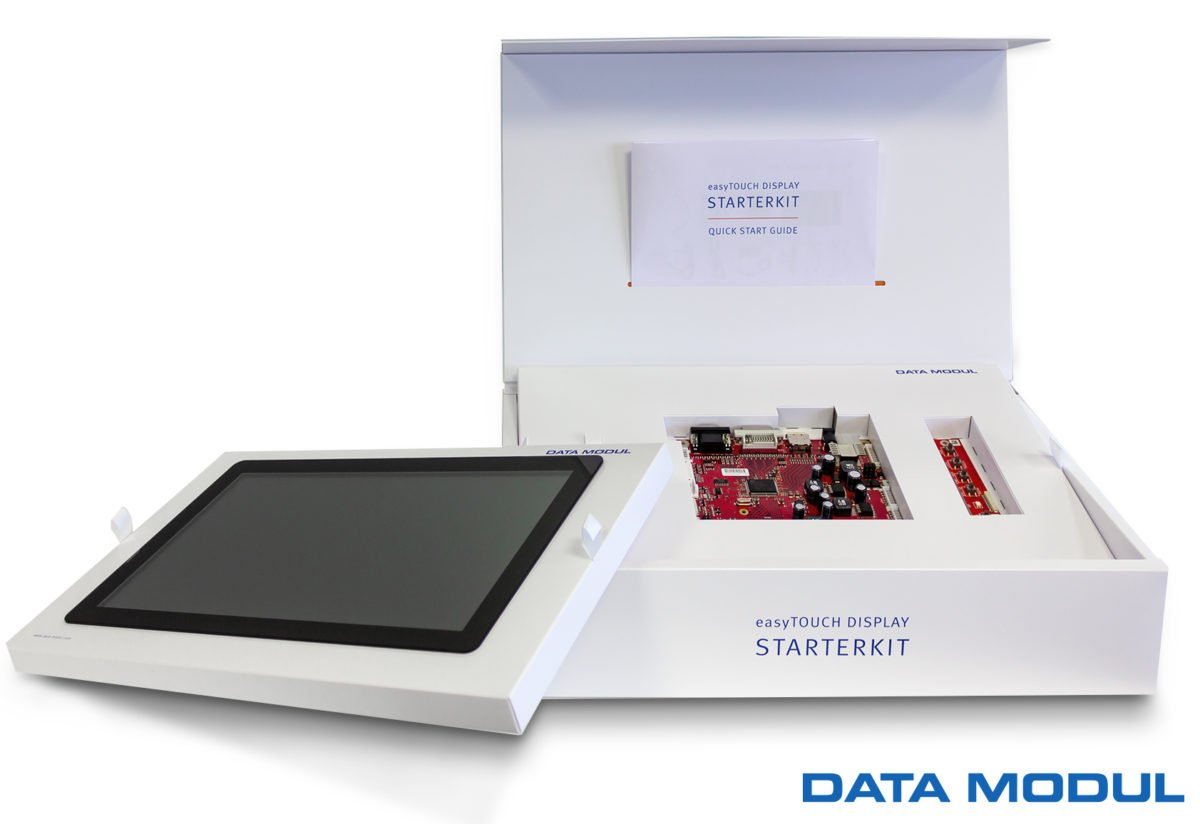 Touchscreen-TechnologieStarterkit und Entry Line erleichtern den PCAP-Einstieg