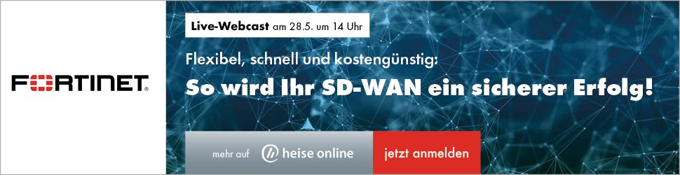 Webcast Fortinet 28.5.2020