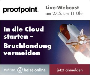 Webcast Proofpoint 27.5.2020