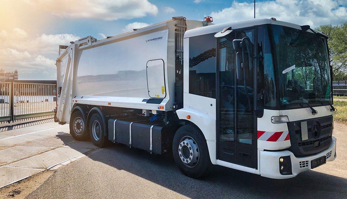 AbfallwirtschaftQuantron rüstet Kommunalfahrzeuge auf leise E-Motoren um