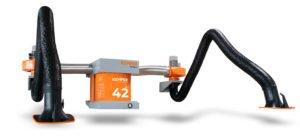 Kempers Wallmaster-Filtersystem hilft bei Schweißrauchabsaugung