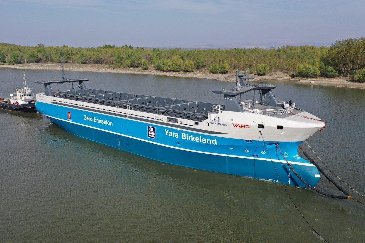 Wo Frachter ohne Kapitän unterwegs sind