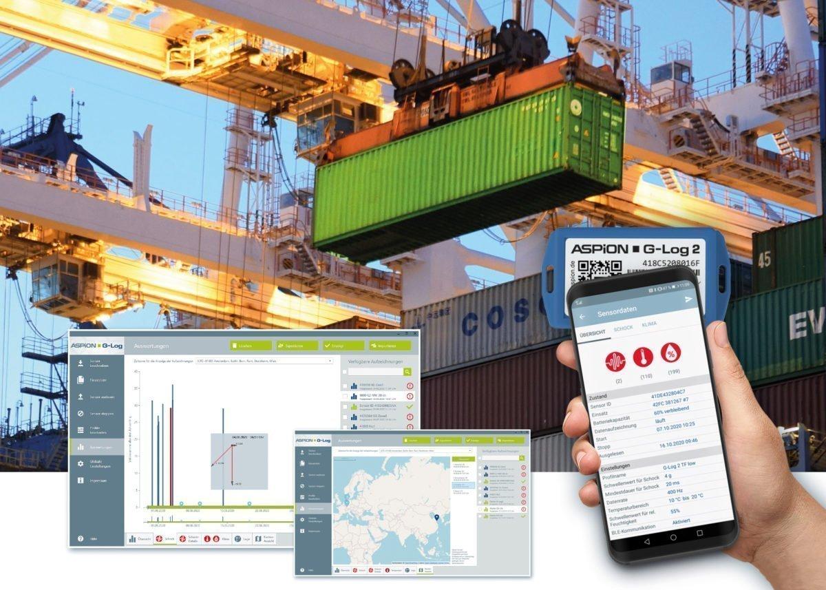 LogistikFür die Aspion-Datenlogger gibt es neue Software