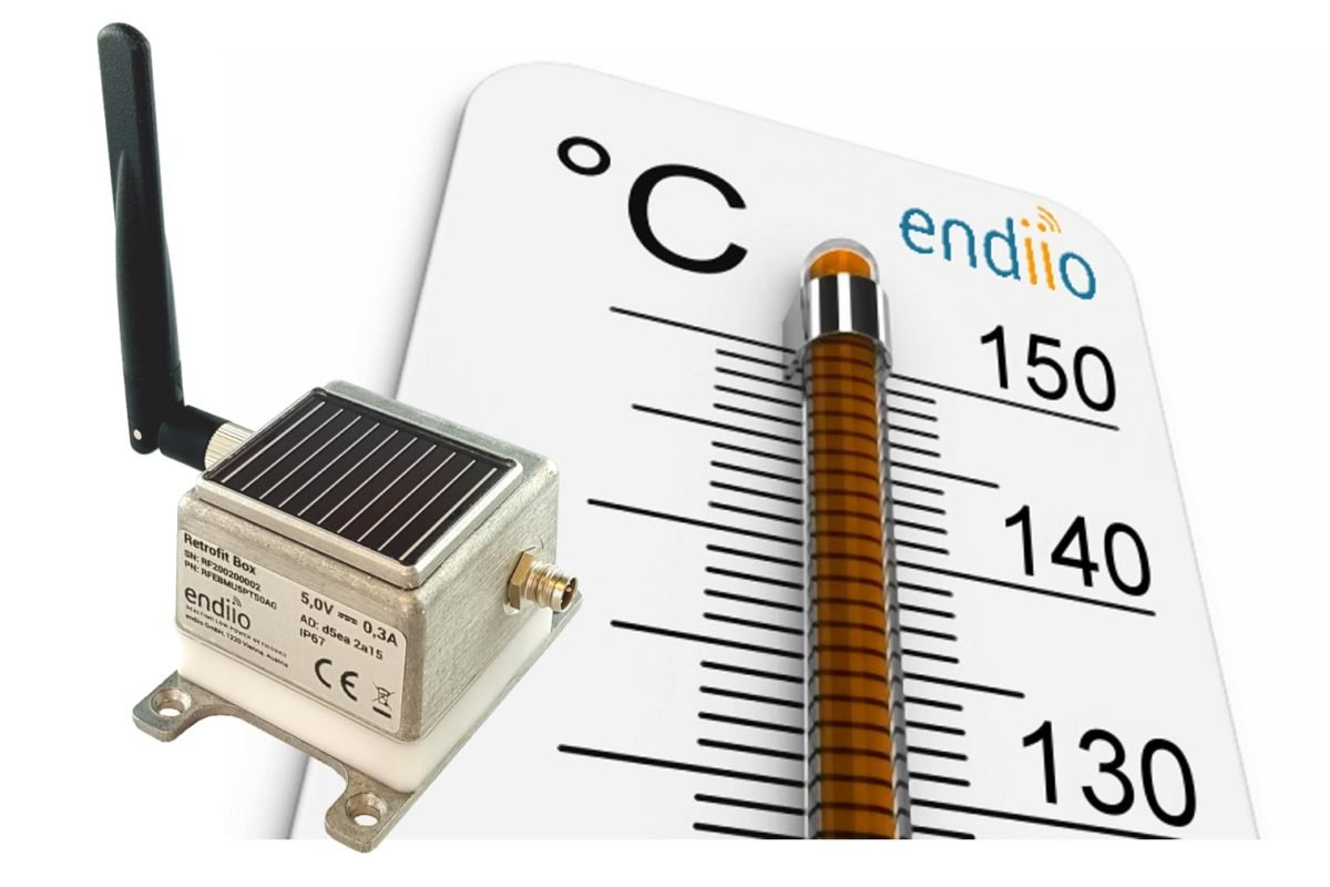 Smart FactoryAutarke Retrofit-Box vernetzt Anlagen bis 150 Grad