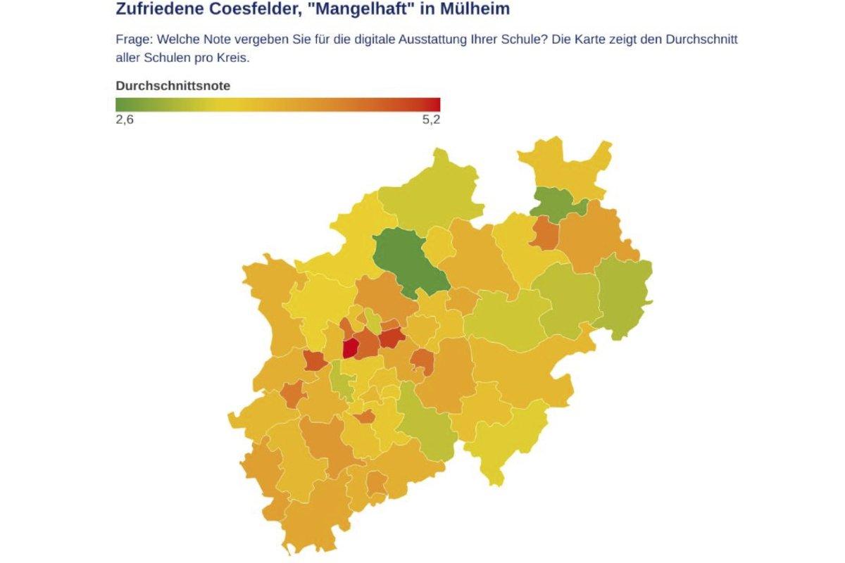 HomeschoolingDie Schulen in NRW geben der Digitalausstattung Note 4+