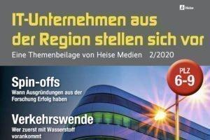 Heise-Beilage präsentiert süddeutsche Scientrepreneure