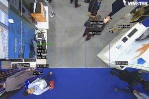 Personenzähler-Kameras besorgen die Zutrittskontrolle
