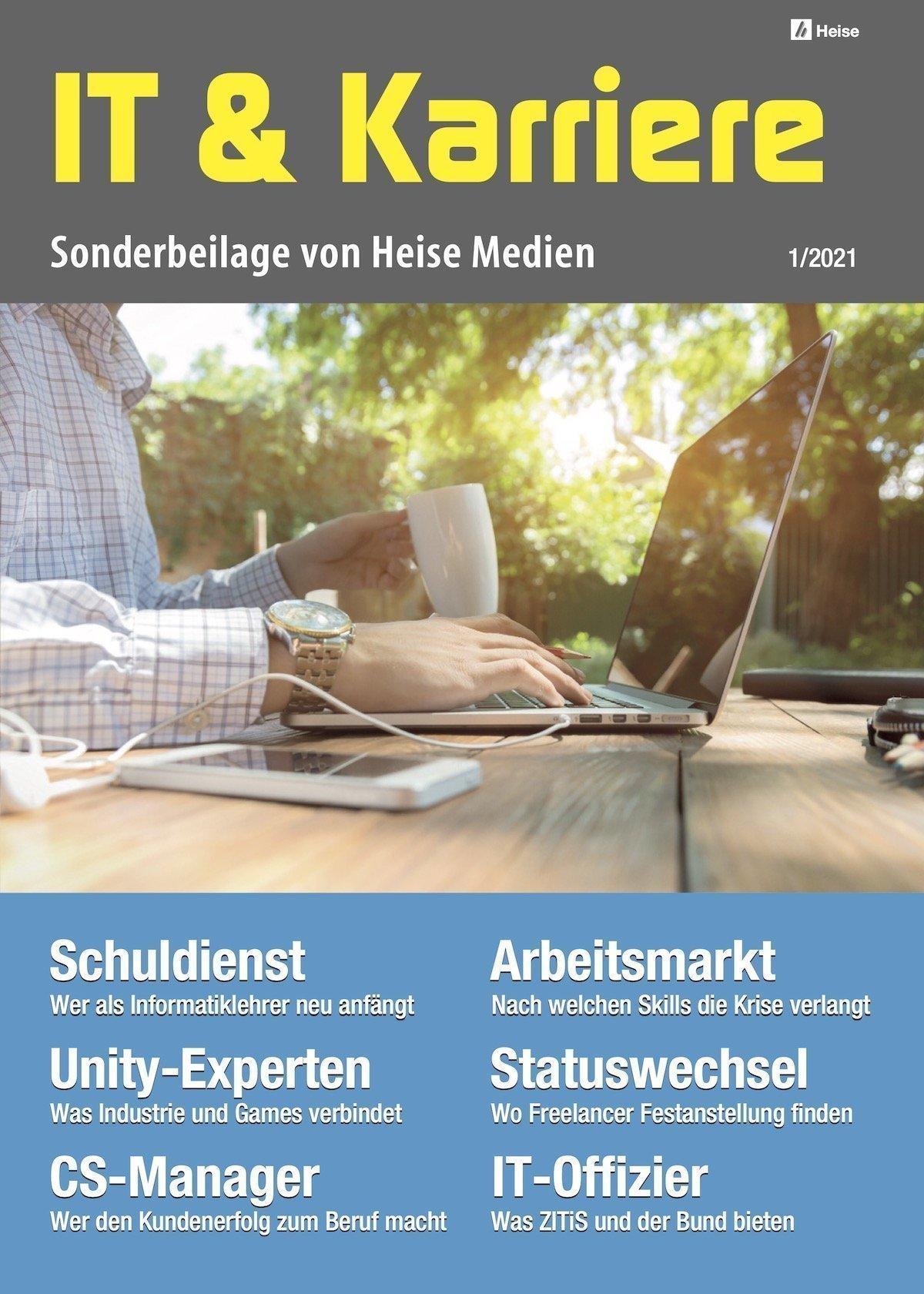 """Heise-Beilage """"IT & Karriere"""" 1/2021"""