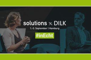 Der solutions x DILK Kongress startet als Live-Event