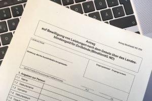 Niedersachsen schafft barrierefreie Blindengeld-Anträge